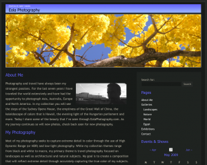 EolaPhotography.com HTML version
